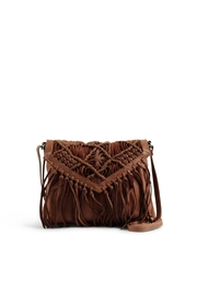 Day & Mood Tassel Leather Crossbody Bag - Front cropped