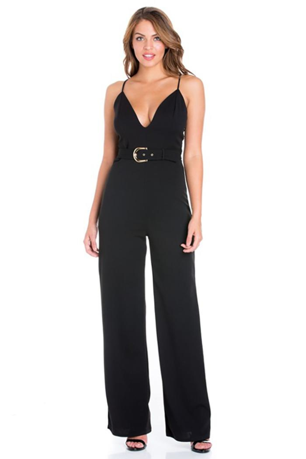 Day & Night Crepe Wide Jumpsuit - Main Image