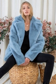 Day & Night Faux Fur Coat - Front cropped
