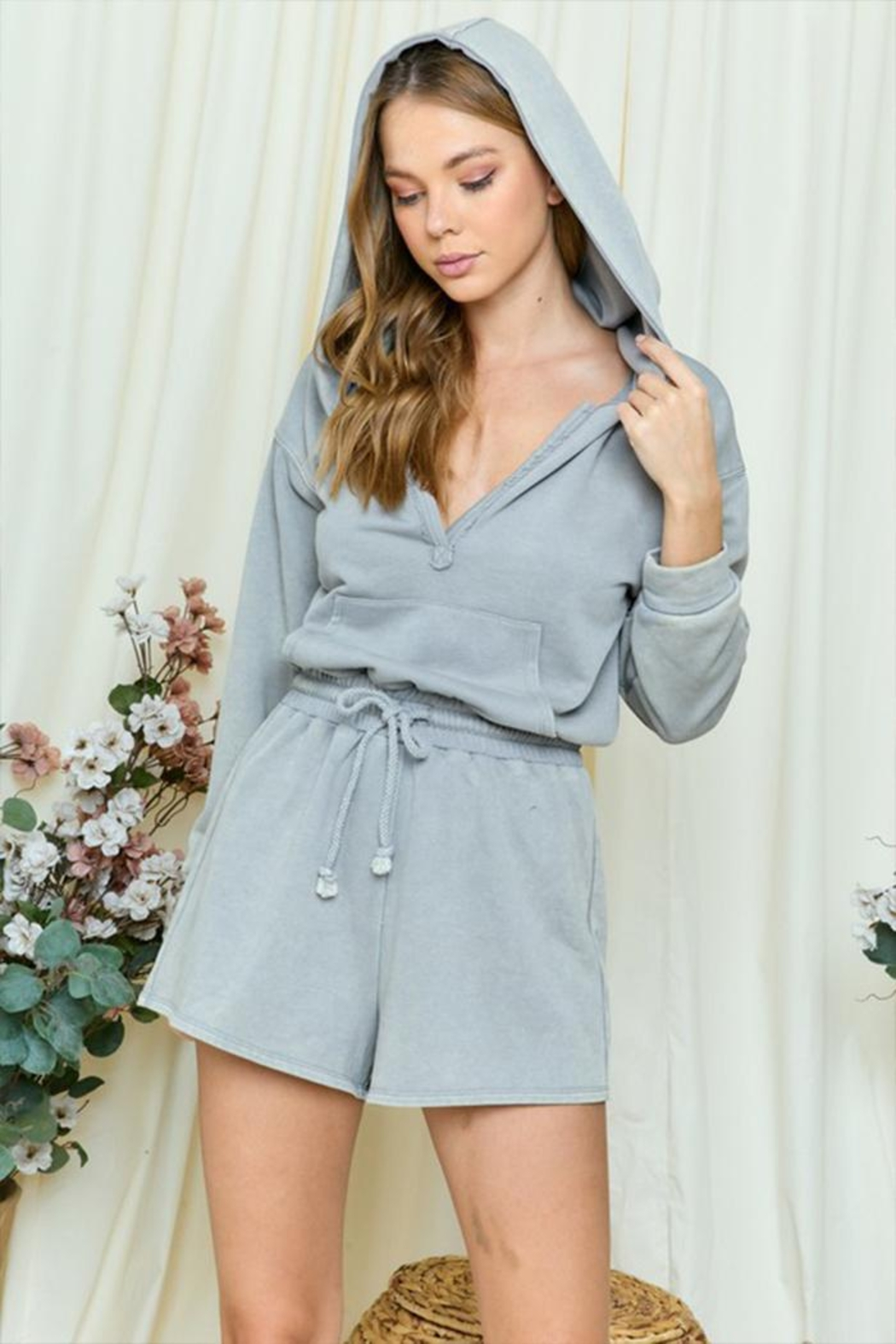 day and night Hooded Romper - Main Image