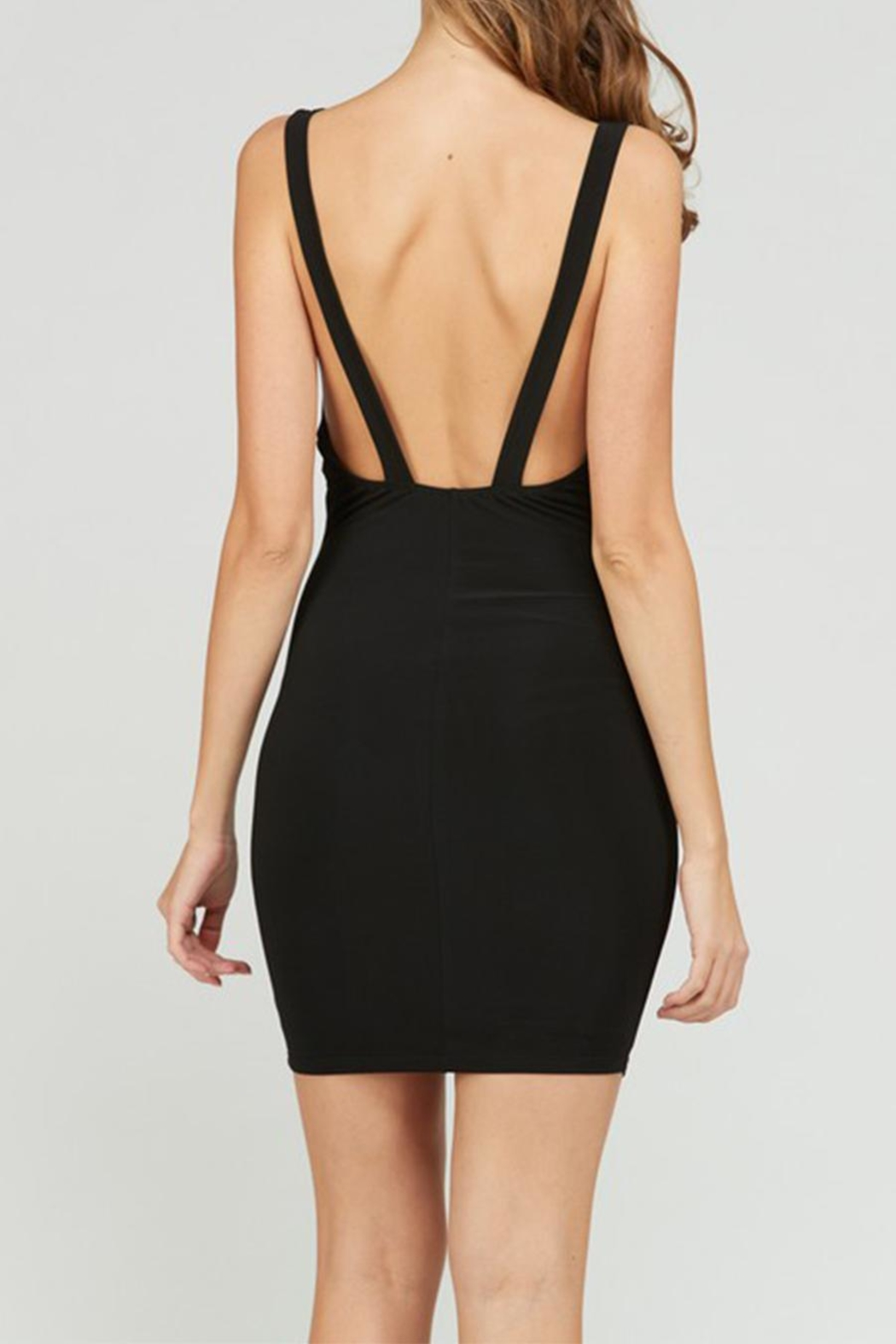 day and night Little Black Dress - Back Cropped Image