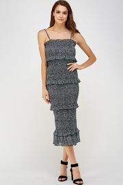 day and night Smocked Midi Dress - Product Mini Image