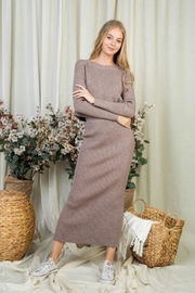day and night Sweater Skirt Set - Product Mini Image