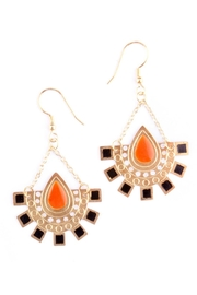 Mata Traders Daybreak Gold Earrings - Product Mini Image