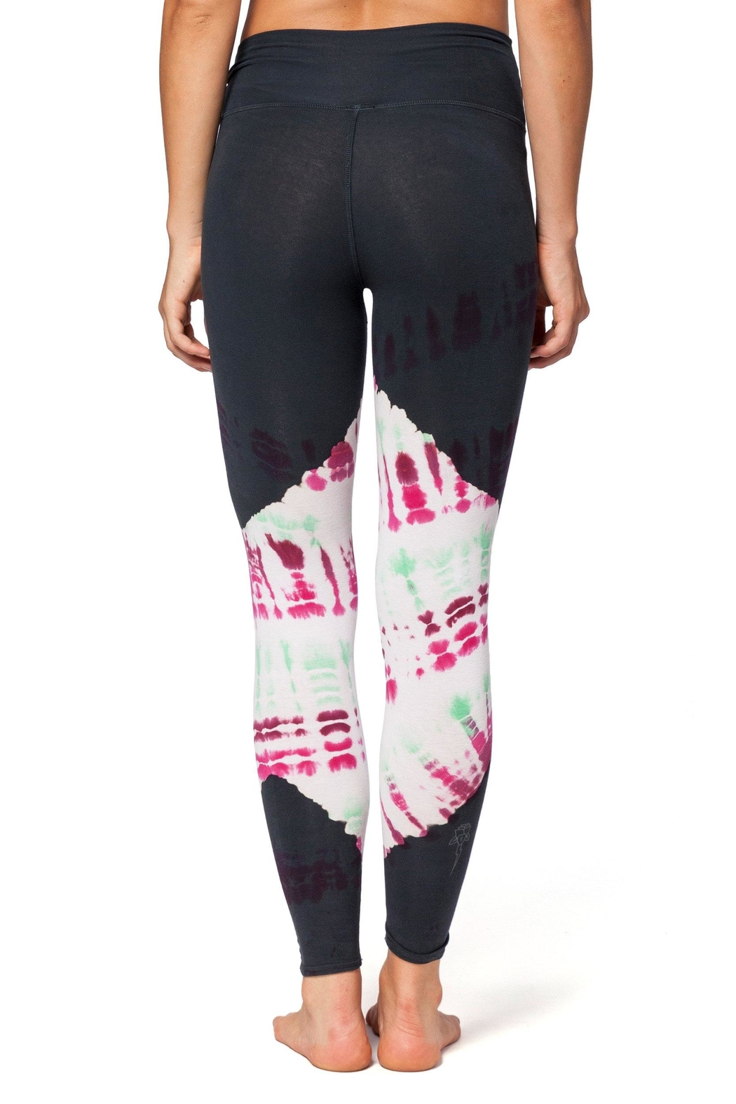 Electric & Rose Daydream Sunset Leggings - Side Cropped Image