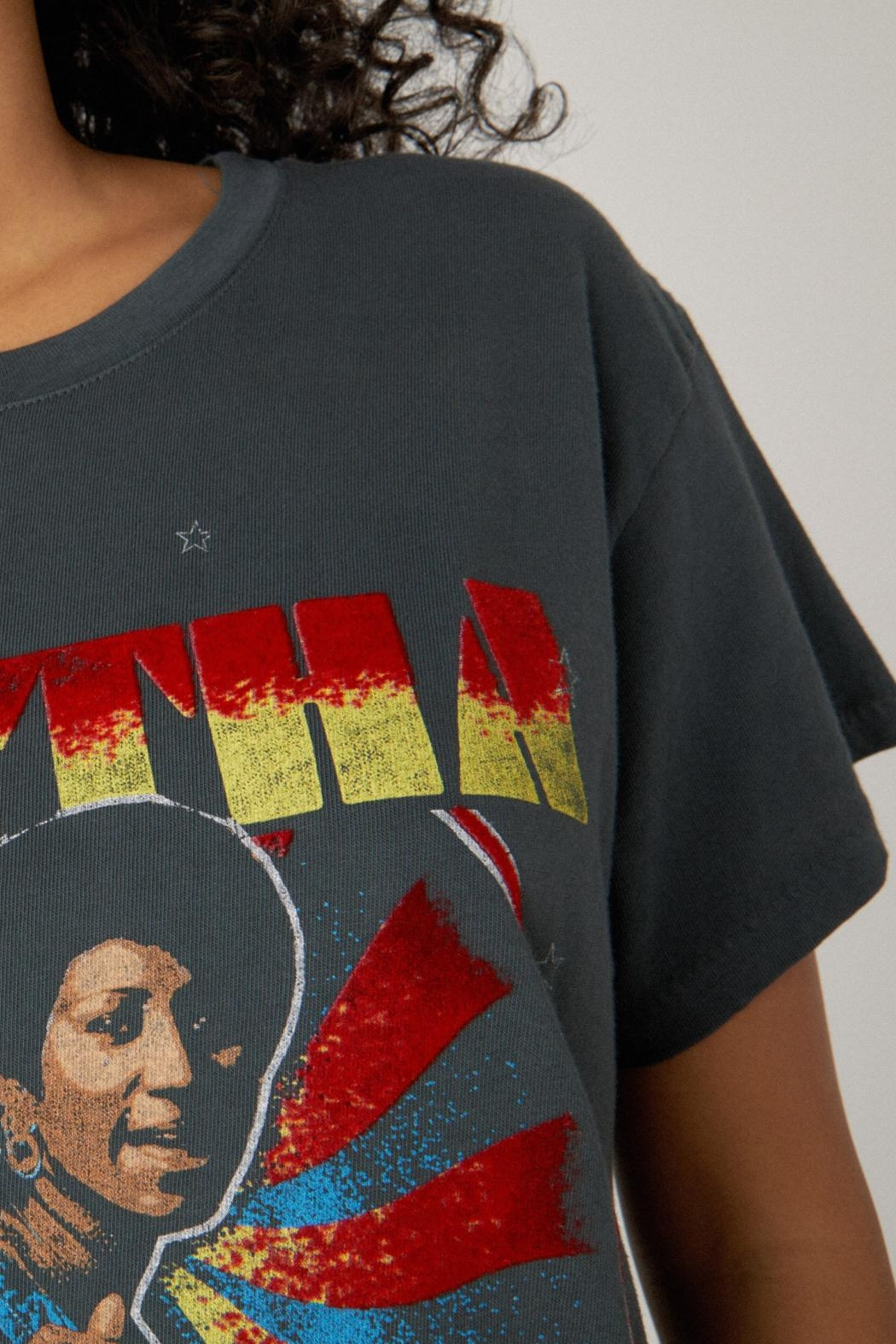 Daydreamer Aretha Respect Tee - Side Cropped Image