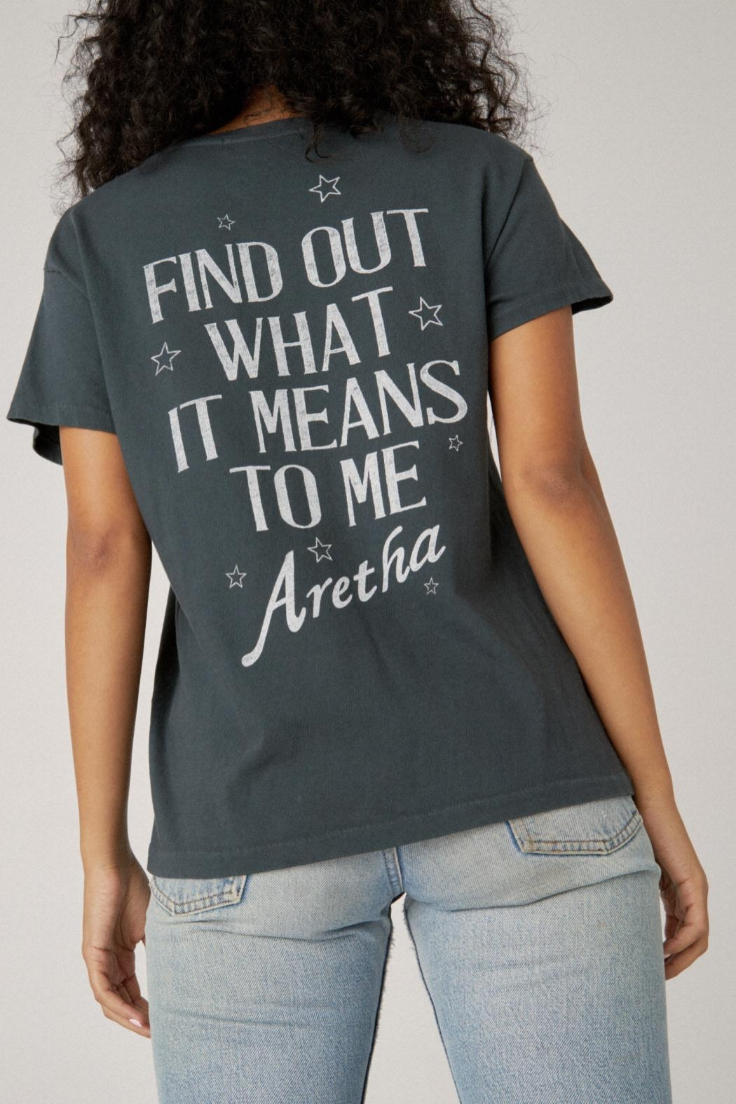 Daydreamer Aretha Respect Tee - Front Full Image