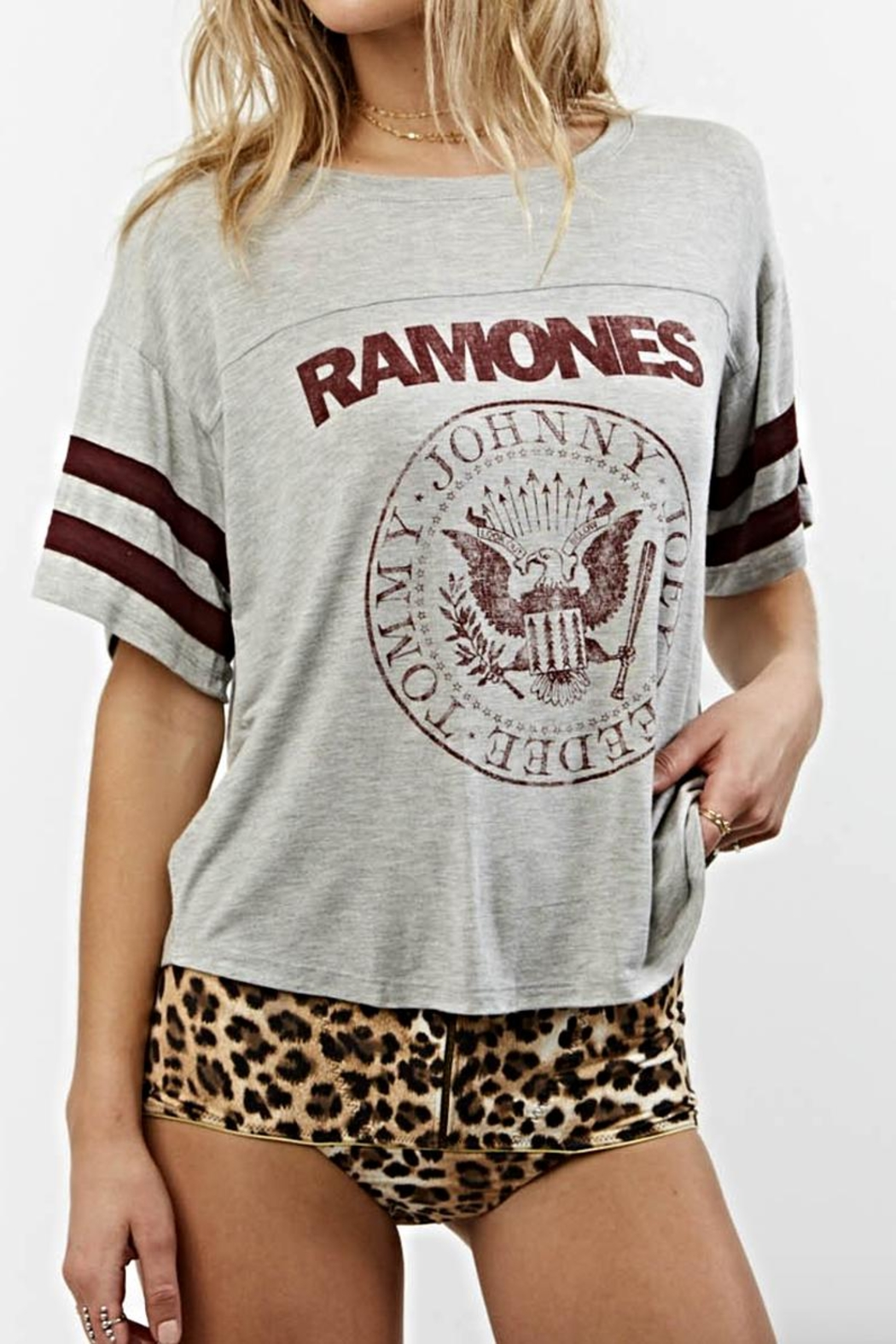 Daydreamer Ramones Tee - Front Cropped Image