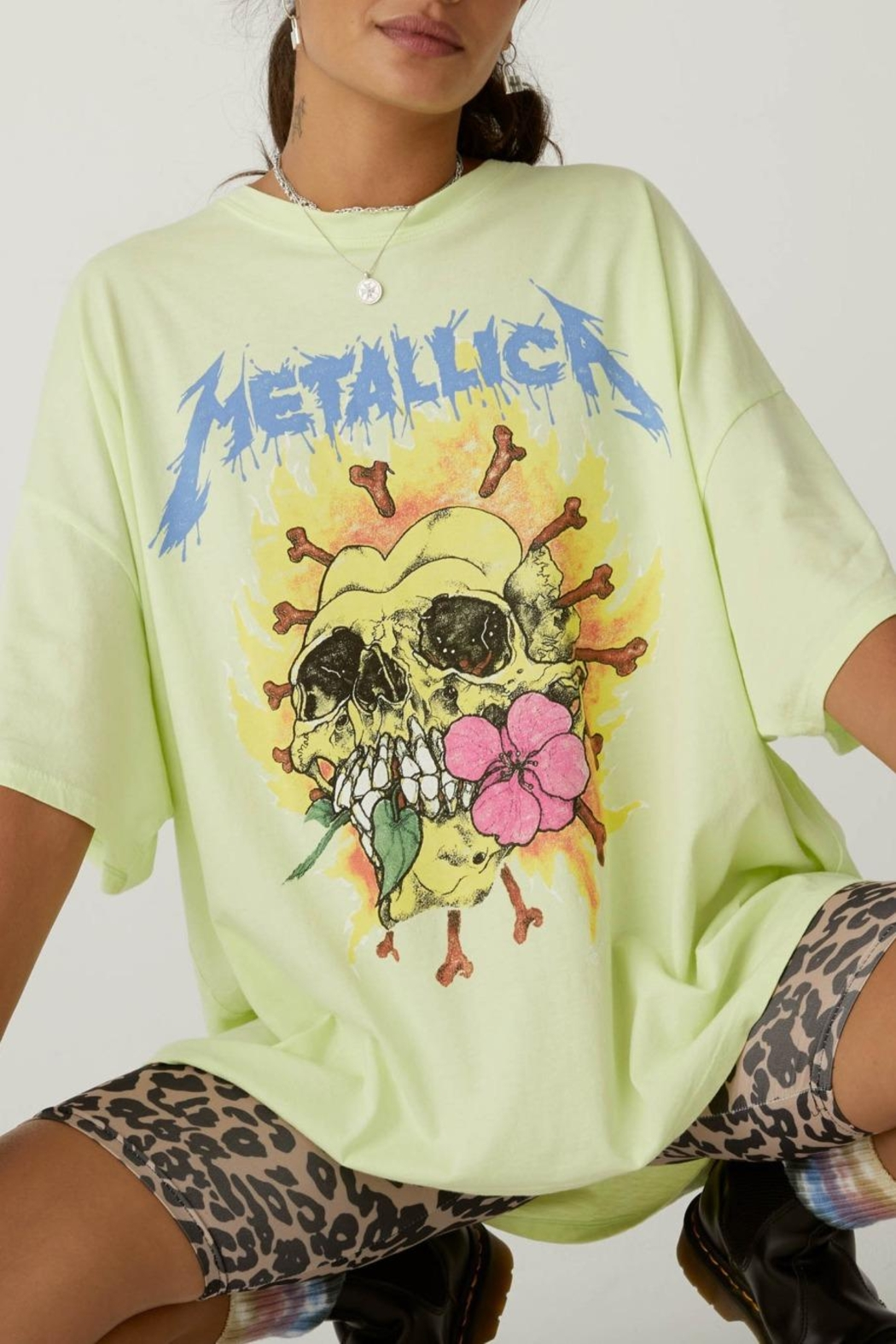 Daydreamer Metallica Acid Yellow - Front Full Image