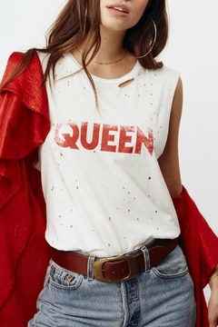 Shoptiques Product: Queen Thrashed Tank