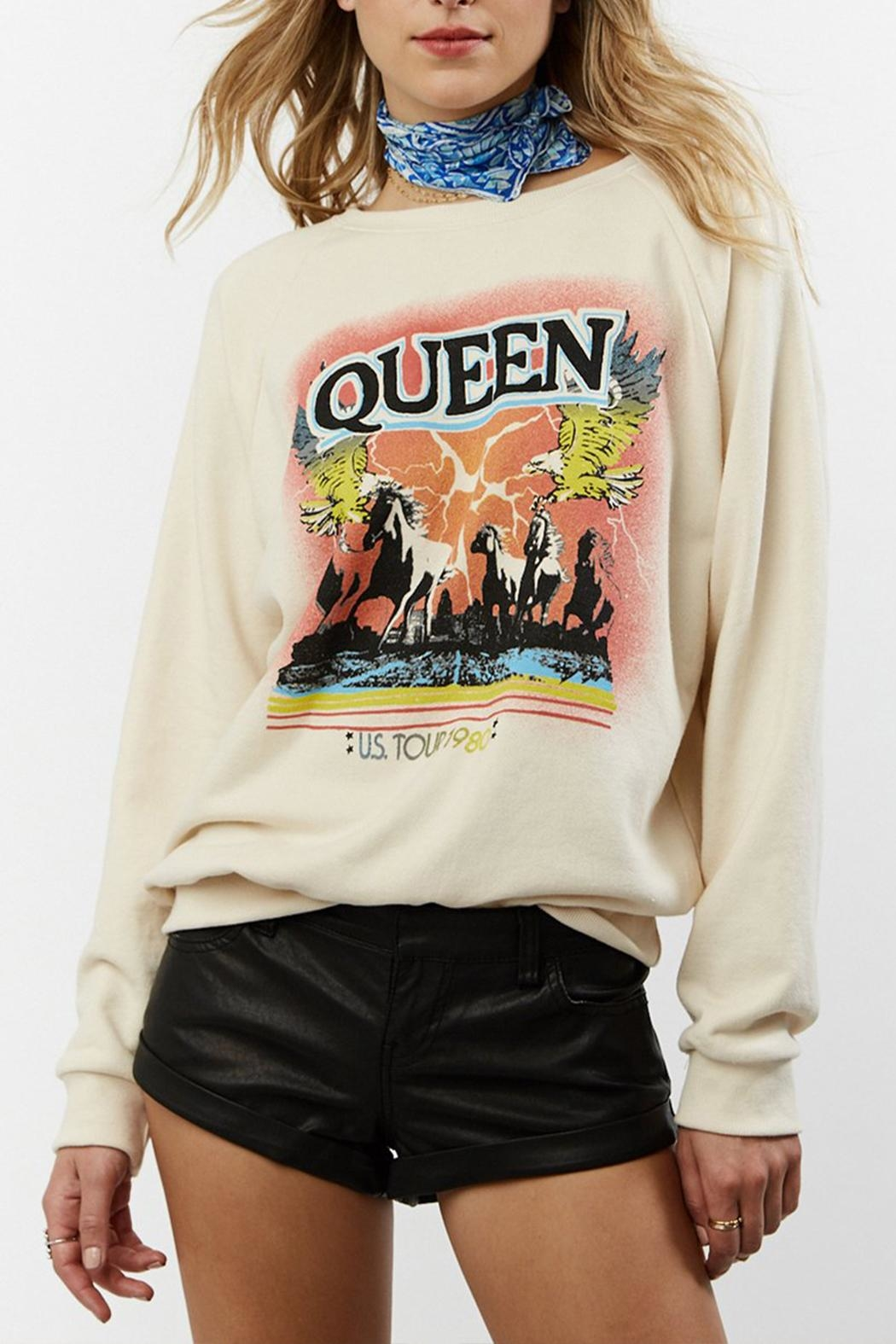 Daydreamer Queen Tour Sweatshirt - Front Cropped Image