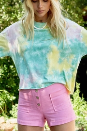 Daydreamer Tie Dye Cropped Tee - Product Mini Image