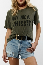 Daydreamer Whiskey Boyfriend Tee - Front cropped