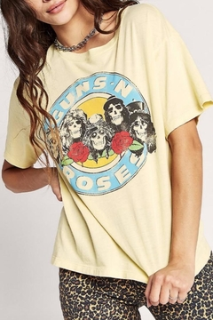 Daydreamer Yellow Gnr Tee - Product List Image