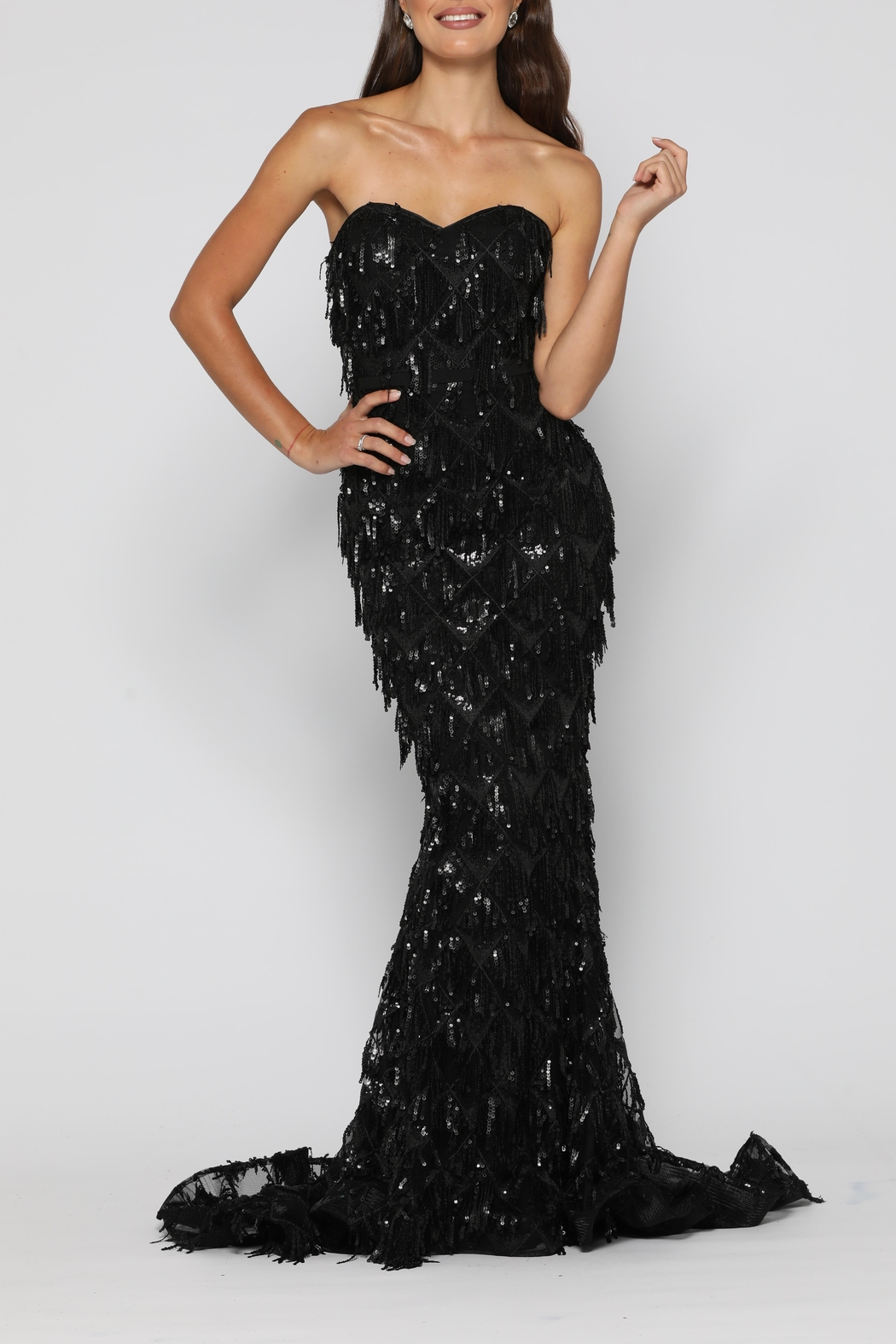 YSS the Label Dazzling Gown Black - Main Image