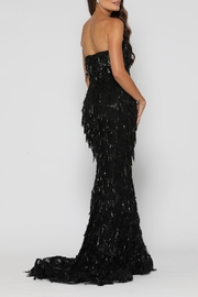 YSS the Label Dazzling Gown Black - Side cropped