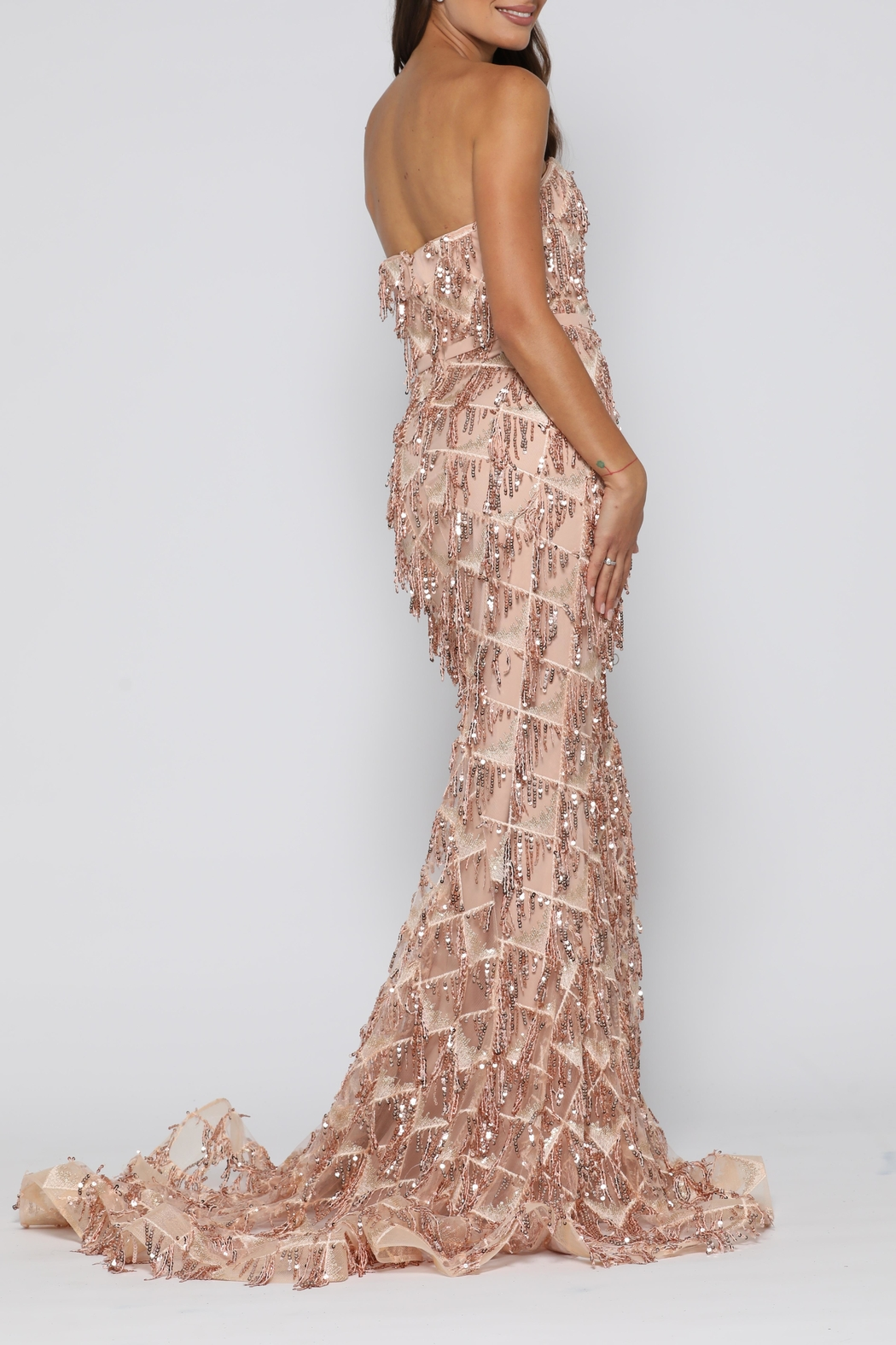 9f4d26a38ee0 YSS the Label Dazzling Gown Gold from Sydney by Windsor and Lux ...