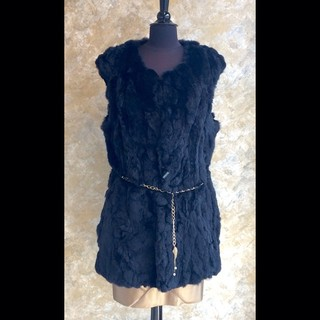Shoptiques Product: Rabbit Fur Vest