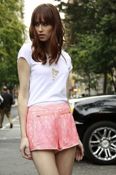 Finders Keepers Lace Hot Shorts - Product List Image