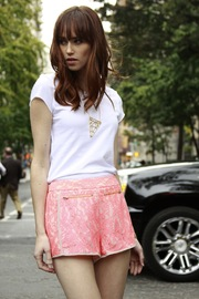 Finders Keepers Lace Hot Shorts - Product Mini Image