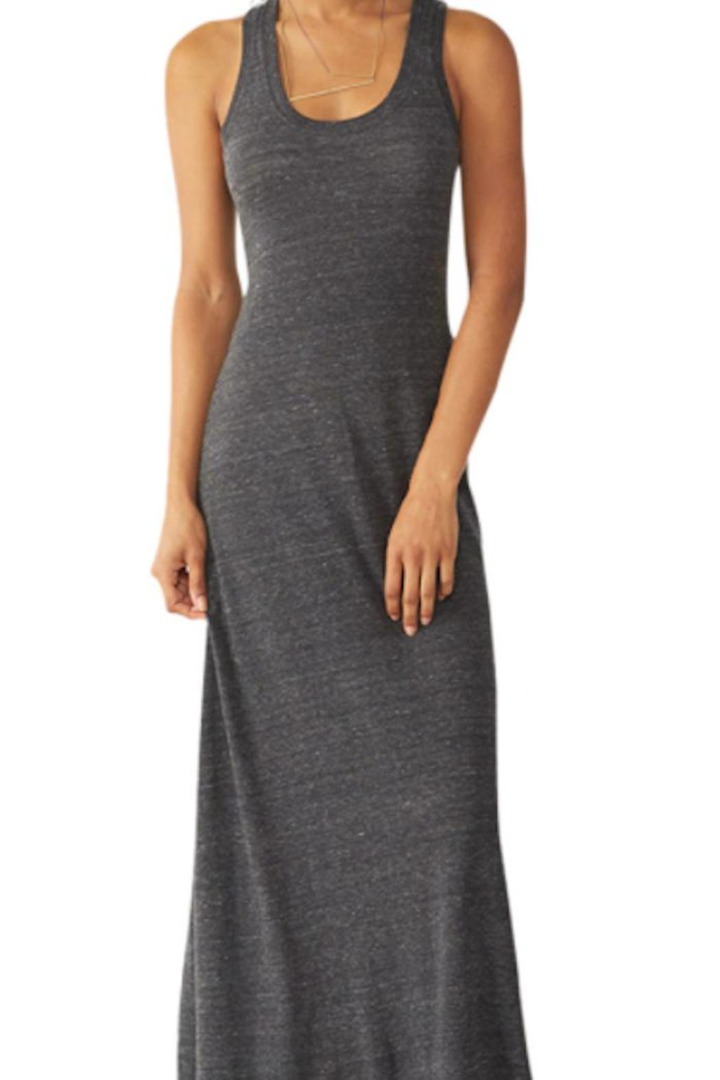 Alternative Apparel Racerback Maxi Dress From Golden By Truly