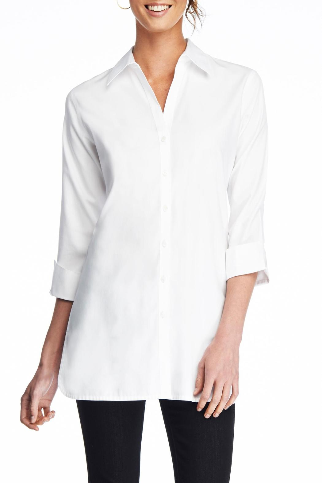 Foxcroft No Iron Shaped Blouse From New York By Jane