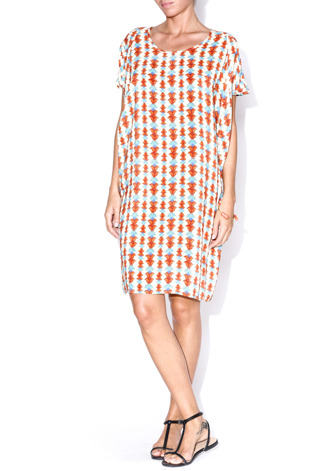 matta Agave Shalini Dress - Front Cropped Image