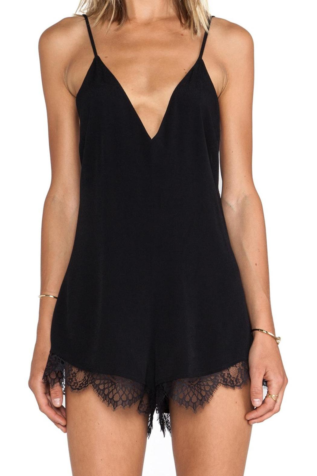 Lovers + Friends Ruby Lace Romper - Main Image