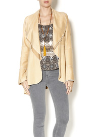 Vine Stree Faux Suede Jacket - Product Mini Image