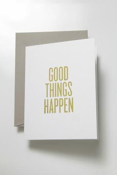 Shoptiques Product: Good Things Card