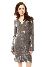 Shoptiques Product: Sequin Sweater Dress