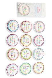 Mud Pie Girl Milestone Stickers - Product Mini Image