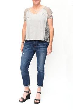 Gentle Fawn Snakeskin Printed Top - Product List Image