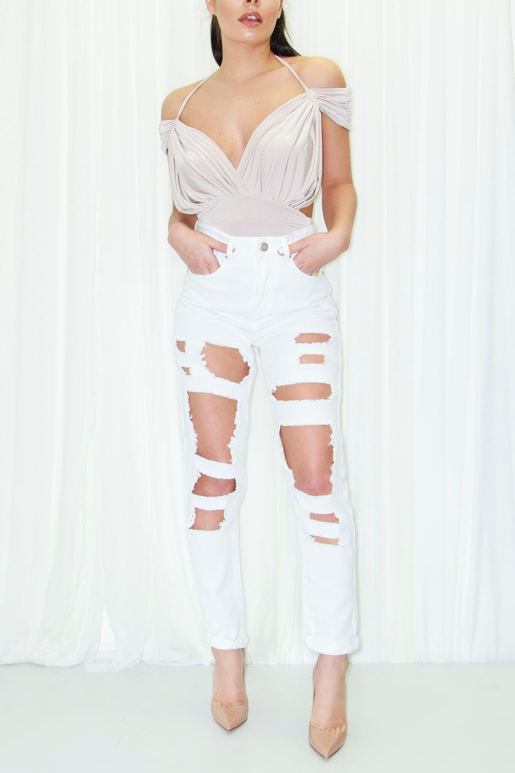 DBL Aubree Bodysuit - Front Cropped Image