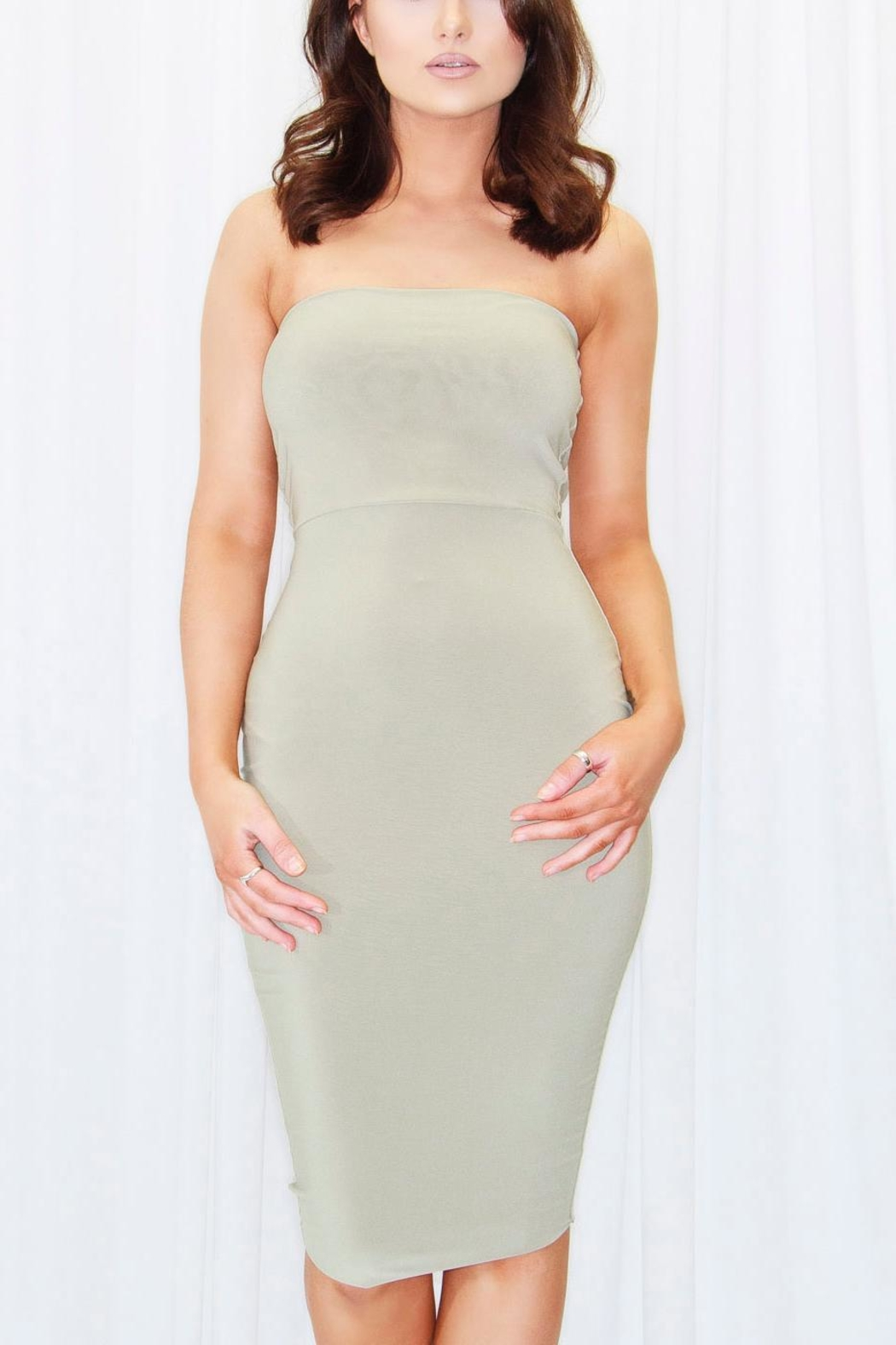 DBL Mimi Tube Dress - Front Full Image
