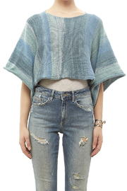 DC KNITS Blues Variegated Sweater - Side cropped