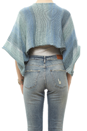 DC KNITS Blues Variegated Sweater - Back cropped