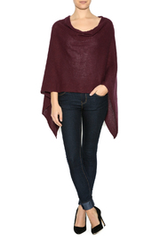 DC KNITS Cashmere Poncho - Front cropped