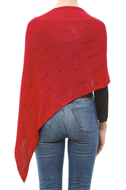 DC KNITS Bamboo Chameleon Wrap - Back cropped