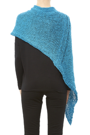 DC KNITS Cotton Chameleon Wrap - Back cropped
