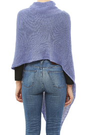 DC KNITS Periwinkle Chameleon Wrap - Back cropped