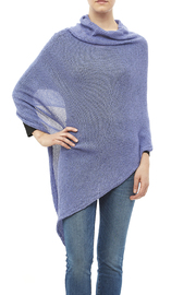 DC KNITS Periwinkle Chameleon Wrap - Front cropped