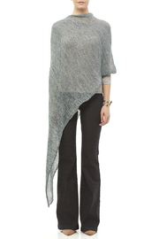 DC KNITS Variegated Chameleon Wrap - Front full body