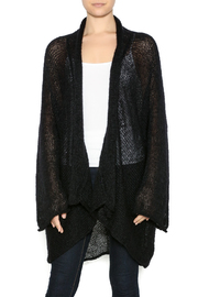 DC KNITS Black Mohair Cardigan - Product Mini Image