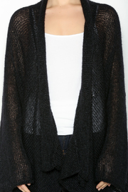 DC KNITS Black Mohair Cardigan - Other