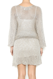 DC KNITS Champagne Sheen Dress - Back cropped