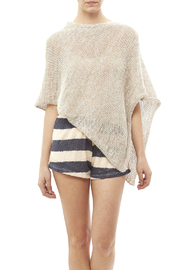 DC KNITS Mohair Blends Poncho - Front cropped