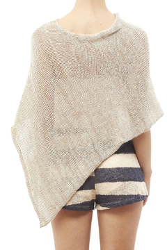 DC KNITS Mohair Blends Poncho - Alternate List Image