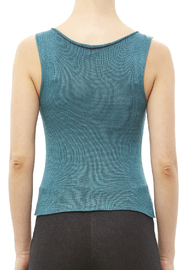 DC KNITS Sleeveless Bamboo Top - Back cropped