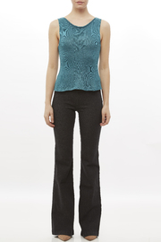 DC KNITS Sleeveless Bamboo Top - Front full body